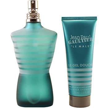 Jean Paul Gaultier Le Male 2 Pc. Gift Set for Men | Edt 4.2 Oz + All Over S/g 2.5 Oz for Men By 4.2 Fl Oz