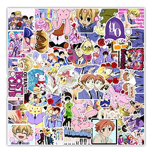 Anime Sakura Campus Graffiti Impermeable Monopatín Viaje Maleta Teléfono Portátil Equipaje Pegatinas Lindo Niños Niña 50pcs