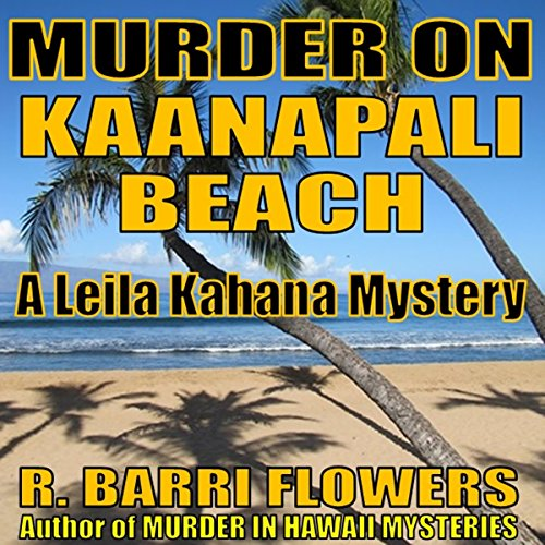 Murder on Kaanapali Beach audiobook cover art