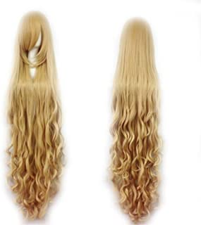 Fashion Women's Cosplay Hair Wig 150cm Long Curly Hair Heat Resistant Costume Party Full Wigs