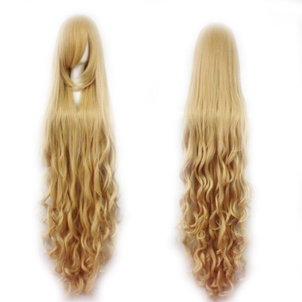 Fashion Women's Cosplay Sale Hair Wig Resi 150cm Curly New York Mall Long Heat