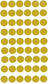 Vosarea Dot Wall Stickers Removable Dot Decals Wall Art Decals Nursery Wall Decor for Baby Kids Room (Gold)