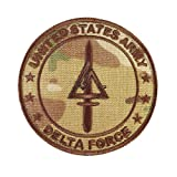 Multicam Call of Duty COD Delta Force US Army Operational Detachment Delta SFODA-D SFG Hook-and-Loop Patch