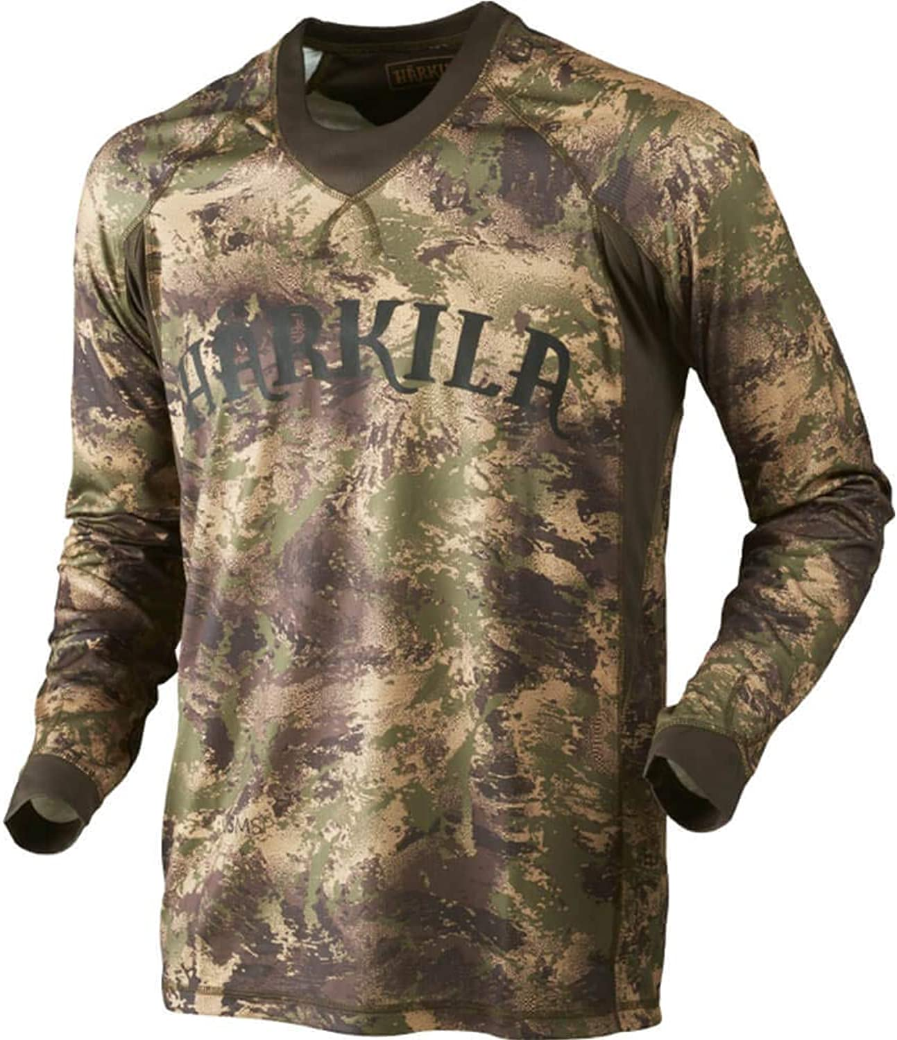 Harkila Lynx L S t-shirt AXIS MSP Forest Green Large
