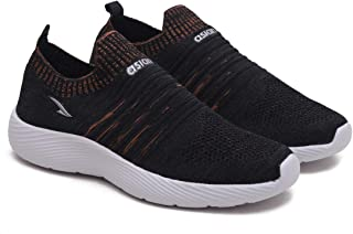 ASIAN Men's Hattrick-02 Men's Knitted Sports Shoes Sneakers,Ultra-Lightweight, Breathable, Walking, Fabric Running Shoes