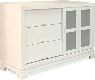 Eden Baby Melody Collection Dresser, White