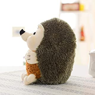 Hot Sale!DEESEE(TM)🌸🌸Hedgehog Toys Plush Toy Squeaky Hedgehog Squeaker Sound Cat Puppy (Bronze)