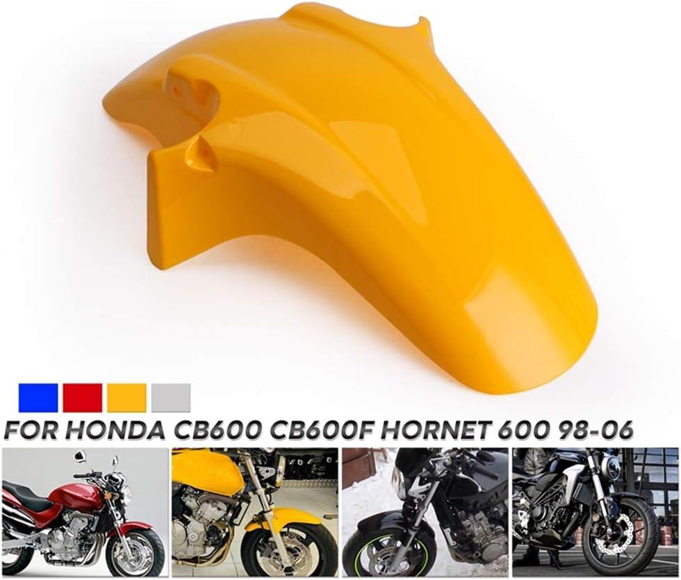 Adatto Per HONDA CB250F CB600F CB900F CB1300 Parafango Anteriore Del Motociclo Motociclo Dosseret Alta Resistenza ABS Parafango Utilizzato Per Hornet 250 600 900 CB600,Blu