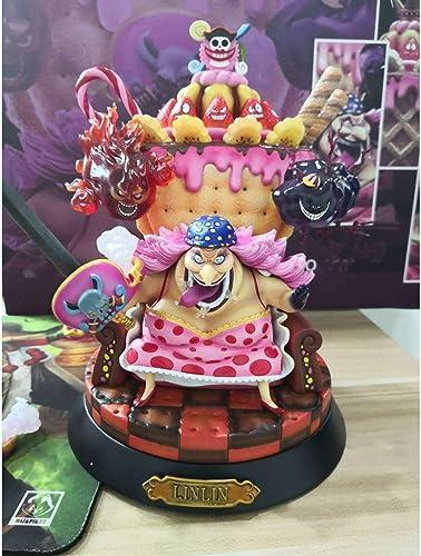 muchas concesiones DYHOZZ Estatua de Anime de One Piece Piece Piece Four Emperors Big MOM-Charlotte · Lingling Anime Portrait, Juguetes de decoración de Oficina en casa - PVC-23CM Estatua de Juguete  las mejores marcas venden barato