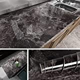 Livelynine 15.8x197 Inch Removable Marble Contact Paper Waterproof...