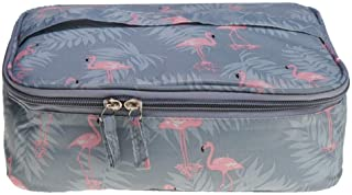 MOPOLIS Travel Toiletry Bag Shower Case Holiday Bag Wash Organizer Storage Pouch | Color - Flamingos