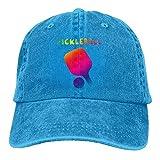 erjing Neon Pickleball Funny Adult Sport Gorra de béisbol Ajustable Sombrero de Vaquero