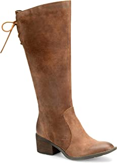 Felicia Rust Distressed Women's Pull-on Boots