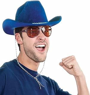 Deluxe Blue Cowboy Hat
