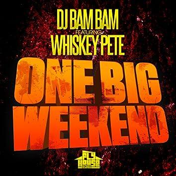 One Big Weekend (Radio Mix) (feat. Whiskey Pete) - Single