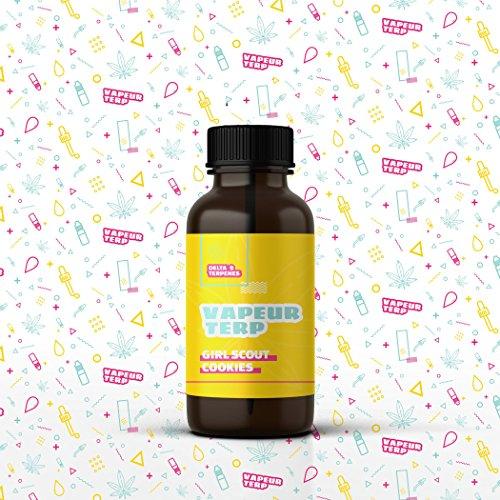Delta 9 Terpenes - Girl Scout Cookies | 100% Pure Organic | Strain Specific (4mL)