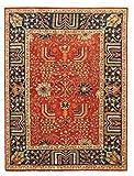 Nain Trading Arijana Klassik 233x173 Orientteppich Teppich Dunkelgrau/Braun Handgeknüpft Pakistan