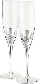 Lenox True Love Glass Flute Pair - 812613