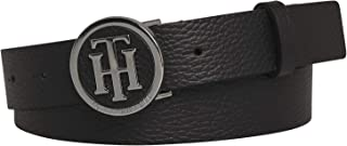 Tommy Hilfiger Round Buckle Womens Leather Belt