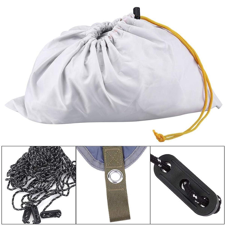 Yosooo Hammock Rain Fly Waterproof Tent Tarp, Triangle Rectangle Waterproof UV Protection Extra Heavy Duty Shade Sail Sun Canopy Outdoor