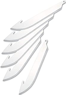 Outdoor Edge 3.0 Inch Razor Series Replacement Blades -- 6 Blade Pack