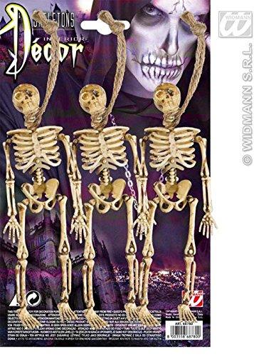 Sancto International Halloween Prop Squelette Party décorations Pk3