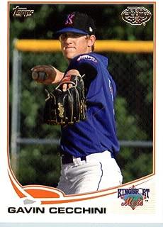 2013 Topps Pro Debut #8 Gavin Cecchini (Prospect/Rookie Card) MLB Baseball Card NM-MT