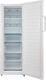 Midea HS312FWES Upright Freezer Stainless Steel Finish Convertible Freezer to Fridge