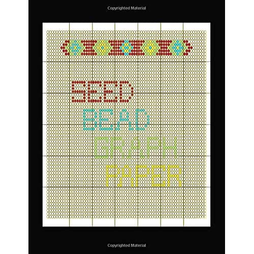 Seed Bead Graph Paper: specialized graph paper for designing your own unique bead patterns