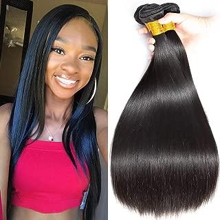 FZY tissage bresilien cheveux naturel bresilienne meches bresiliennes lot bresilienne lisse boucles cheveux lisse extension 300 total Pouces