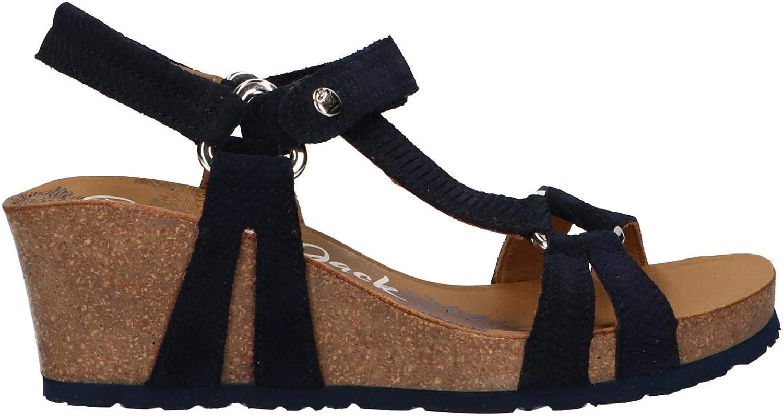 Panama Jack Sandalen für Damen Damen lilata Menorca B2 Velour Marino