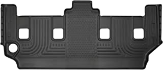 Husky Liners Fits 2008-16 Chrysler Town & Country, 2008-19 Dodge Grand Caravan - with 2nd Row Stow-N-Go Seating Weatherbeater 3rd Seat Floor Mat