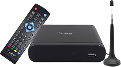 IVIEW-3200STB-A, Digital Converter Box with Recording and Media Player, Analog to Digital, Support QAM Tuner, PSIP, Channel 3/4, HDMI, USB, Antenna Included
