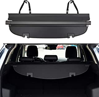 E-cowlboy 【Upgrade Version】 Cargo Cover for Mazda Cx-5 2017~2019 Retractable Trunk Security Shield Shade Black (Updated Version:There is No Gap Between The Back seat)