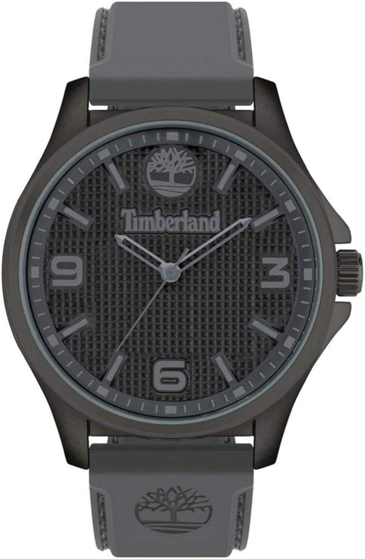 Timberland Reloj Analógico para Hombre de Cuarzo con Correa en Silicona TBL15947JYU.13P