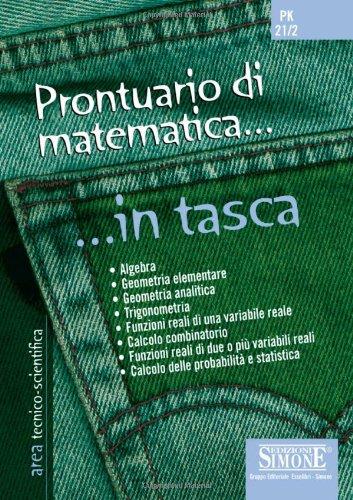 Prontuario di matematica