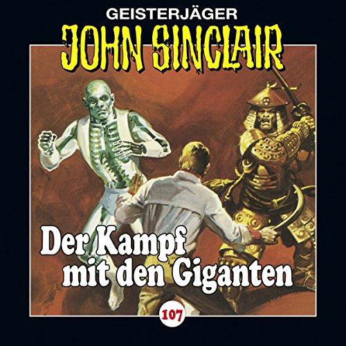 Der Kampf mit den Giganten (John Sinclair 107) Titelbild