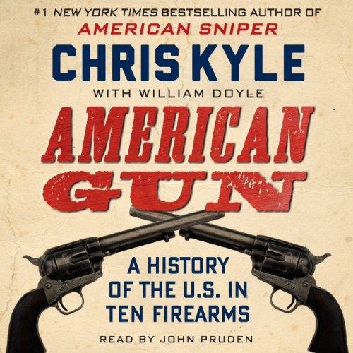 American Gun audiobook cover art