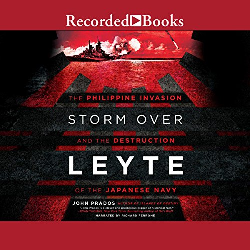 Storm over Leyte audiobook cover art