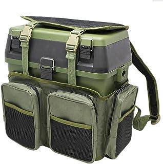 ZEHNHASE boite a peche, siège de valise de pêche pour le matériel de pêche et de pêche, sac à dos de pêche et le matériel ...