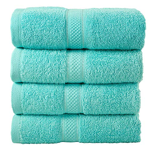 Todd Linens 4-Piece Bale Hand Towels Wash Gift Set – 500 GSM 100% Cotton...