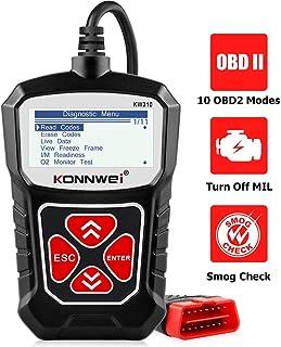 KONNWEI KW310 OBD2 Scanner Full OBDII Functions 10 Modes Car Engine Diagnostic Scanner Tool for...