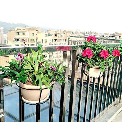 Soporte de flores Colgante redondo Soporte de maceta verde Soporte ...