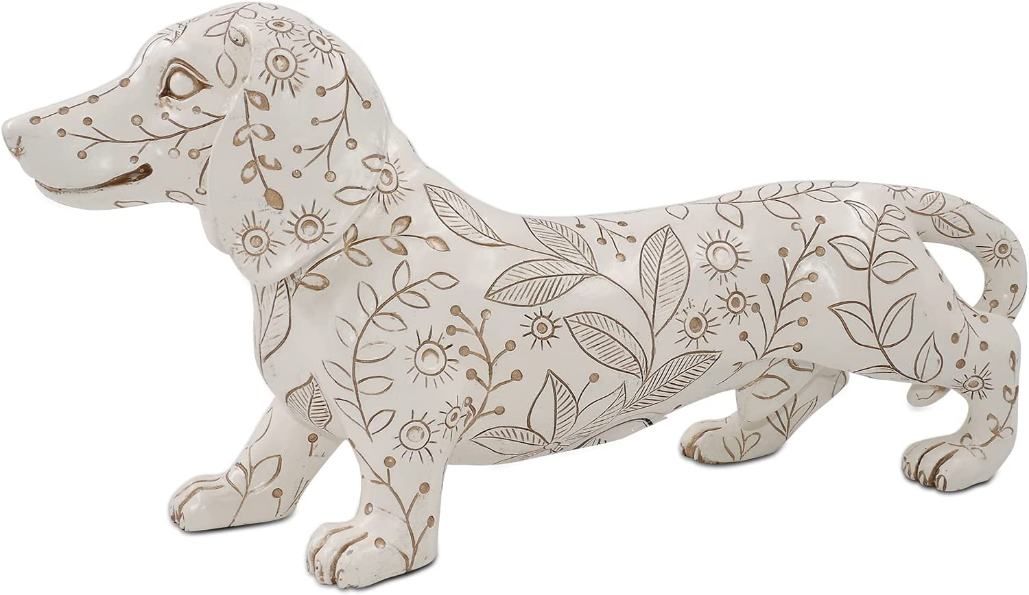 11'' Max 40% OFF Dog Figurines Dachshund Figurine New products world's highest quality popular Decora Home Statue Animal