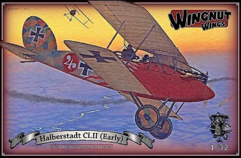 Wingnut Wings WNW32049 Modellbau Halberstadt CL. II (Early), Mehrfarbig