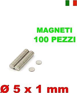 30 MAGNETI NEODIMIO 5X5X5 MM CALAMITA POTENTE FIMO CERAMICA MAGNETE CALAMITE