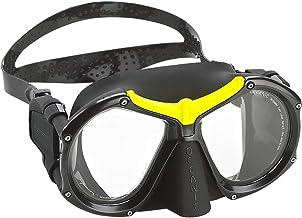 Oceanic Pioneer Diving Mask, Yellow/Black