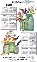 2018 Wildflowers Towel Calendar