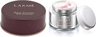 Lakme Rose Face Powder, Warm Pink, 40g & Lakmé Absolute Perfect Radiance Skin Lightening Light Creme, 50g