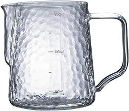 حليب قنديل يدوي الصنع سحب القهوة زهرة اسطوانة آلة القهوة مطابقة حليب رغوة كأس الأجهزة الحليب الضفدع القدح